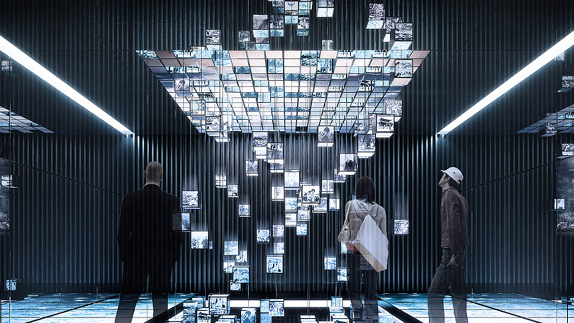 广西北部湾电子信息产业展示馆
